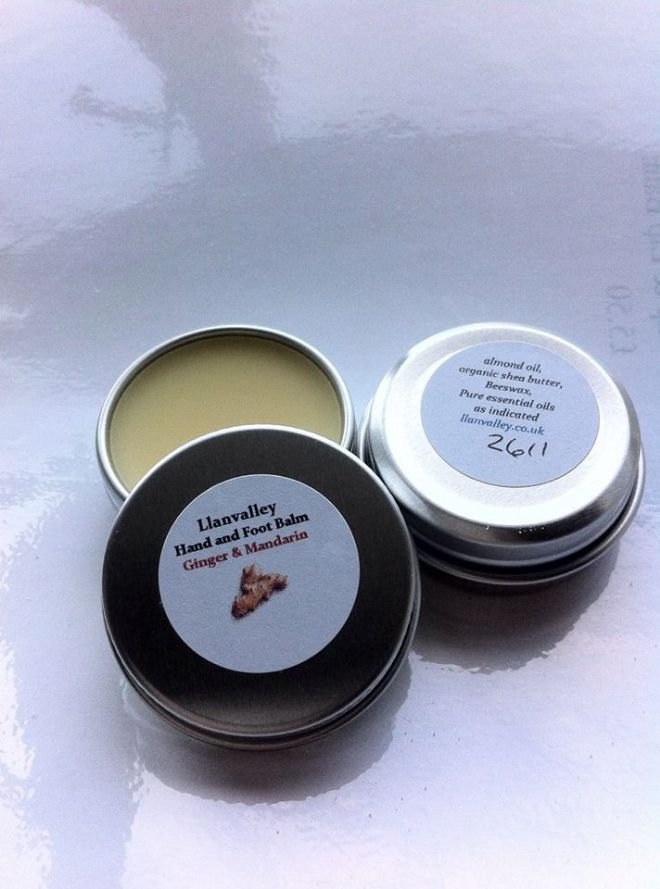 Ginger & Mandarin Pocket Size Soothing & Warming Balm
